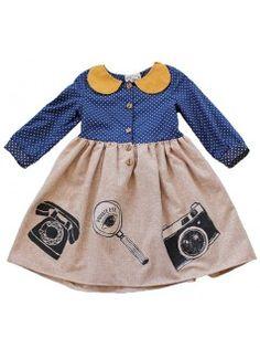 MISHA LULU Sherlock Girl Dress