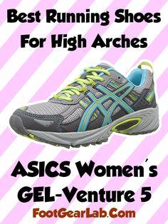 ASICS Women's GEL-Venture 5 - Best Running Shoes For High Arches Women - @footgearlab