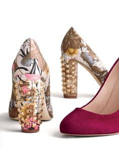 i wonder if i can find some studs to jazz up an old pair of block heels???