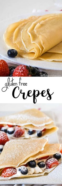 Whether they are for dessert or breakfast, or if the filling is sweet or savoury, gluten free Crepes are a favourite of many. You won't believe they are gluten free!