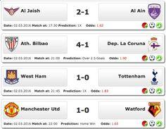 #Soccer betting #tips 02.03.2016 ●▬▬▬ LIKE & SHARE ▬▬▬● See more : www.ukbettips.co.uk