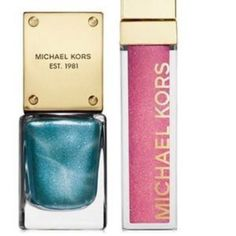 Michael Kors Perfume Lip Gloss Lip Luster and Nail Polish Duo New In box https://www.bonanza.com/booths/FRAN24112 Frans cosmetics bargains