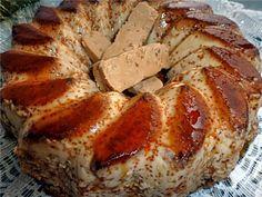 Flan de turrón de Jijona Hispanic Desserts, Spanish Desserts, Sweet Desserts, Sweet Recipes, Mexican Food Recipes, Dessert Recipes, Mediterranean Recipes, Cooking Time, Tapas