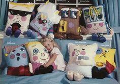 Pillow People | 35 increíbles juguetes que toda chica nacida en los 80 quiso por Navidad