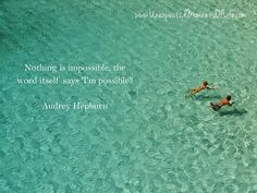 Daily Dose of Quote: May 21, 2015 ~ Audrey Hepburn | Unexpected Moments of Life