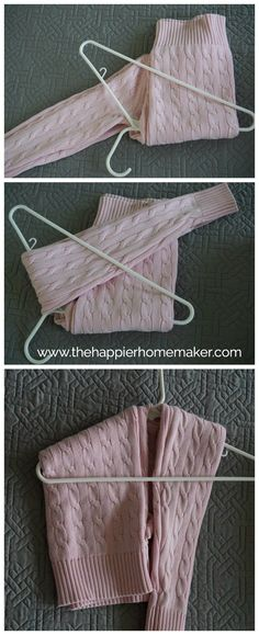 nice How to Hang a Sweater - The Happier Homemaker                              …