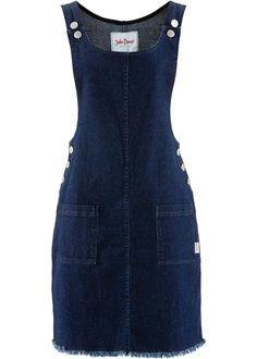 Женский джинсовый сарафан | Модные платья