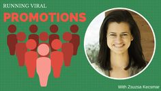 Running Viral Promotions - Interview with Zsuzsa Kecsmar Promotion, About Me Blog, Campaign, Interview, Articles, Social Media, Running, Website, Keep Running