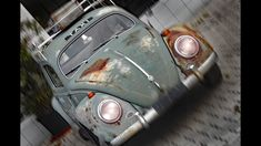 ROSTIGER GEILER VW KÄFER ALS TAXI GESICHTET - OLDTIMER BEETLE - ANNO 2011 Super, Austria, Film, Vehicles, Car, Sports, Vw Bugs, Antique Cars, Movie
