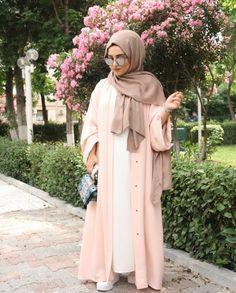 Islamic Fashion, Muslim Fashion, Modest Fashion, Hijab Dress, Hijab Outfit, Hijab Niqab, Ootd Hijab, Hijab Fashion Inspiration, Style Inspiration