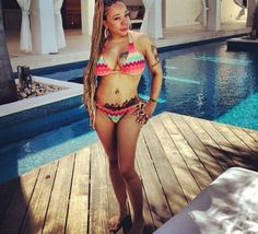 "Tameka ""Tiny"" Harris Spotted On Vacation Without Her Husband T.I. Is It Trouble In Paradise For The Once Happy Couple????"