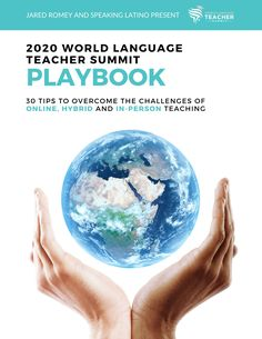 Check out this free online conference for world language teachers! October 2020 is when it begins - click the link for more info! Spanish 1, Spanish Class, Middle School Spanish, Spanish Lesson Plans, World Languages, Student Motivation, Student Engagement, Teaching Strategies, Best Teacher