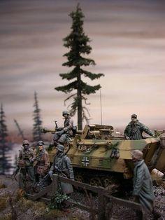(7) eModels #Diorama #Military