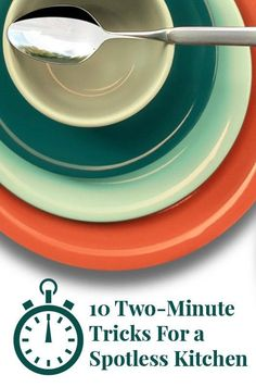 10 Two-Minute Tricks for a Spotless Kitchen | There are very few things as satisfying as that feeling after a deep clean. And now that spring has sprung, it's the perfect time to cast your eye around the kitchen and get into all those nooks and crannies that are so easily overlooked.