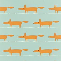 SCION - Designer Fabric and Wallpapers Mr Fox http://www.scion.uk.com/fabric/melinki-one-fabrics/MrFox/120072#