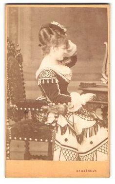 Fotografie Dr. Szekely, Wien, Opernring 1, Mila Kupfer-Berger 1852-1905, Österr   eBay Wii, Painting, Ebay, Opera, Photo Art, Painting Art, Paintings, Painted Canvas, Drawings