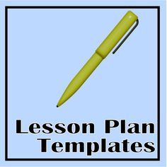 Check out these lesson plan templates as possibilities for your plans this year.  Two different daily plan options and a weekly plan template for your longer term team planning.