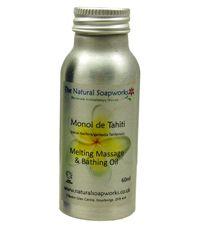 Monoi de Tahiti - melting massage and bathing oil  £8.99 inc free p - http://www.naturesbeauties.co.uk/ourshop/prod_2494711-Monoi-de-Tahiti-melting-massage-and-bathing-oil.html
