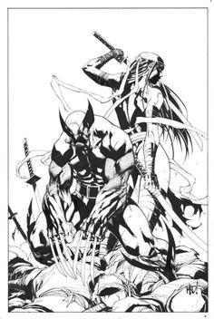 Savage Wolverine # 8 - Cover by Joe Madureira PB