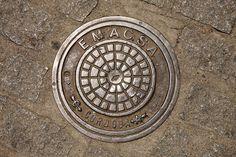 Manholes - Spanje, Cordobas 2014, manhole, manhole cover, stan de haas, kanaldeckel, gullydeckel, asphalt, background, circle, city, cover, detail, drain, grate, gray, hole, iron, metal, old, pavement, road, round, sewage, sewer, sidewalk, steel, street, symbol, underground, urban, water, putdeksel  http://www.standehaas.com  https://www.facebook.com/pages/Stan-de-Haas-Photography