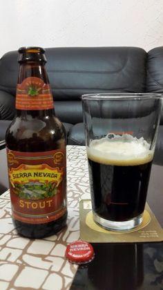Stout de Sierra Nevada Brewing de EEUU. Cheers!!
