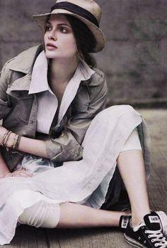 Hot fashion with Panama hats Popular Hats, Panama Hat, Denim, Jackets, Outfits, Style, Closet, Fashion, Down Jackets