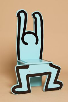 VILAC KEITH HARING CHAIR - BLUE - WOMEN - SOUVENIRS - OPENING CEREMONY ($100-200) - Svpply