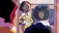 Scooby Doo's Angel Dynamite Cuts her Hair ~ AfroDeity