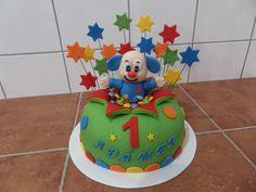 dort - dětský k prvním narozeninám s šaškem / cake - children's first birthday with a clown