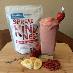 'Goji Goodness' Protein Smoothie! You may not be familiar with Goji Berries but let me tell you why you should be! See below for how awesome...