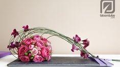 How To Make A Flower Arrangement With Roses Tutorial - & wie erstelle ich ein blumenarrangement mit rosen tutorial - How To Make A Flower Arrangement With Roses Tutorial - & Arte Floral, Deco Floral, Flower Show, Flower Art, Ikebana, Bridal Flowers, Diy Flowers, Flower Decorations, Bridal Bouquets