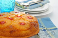 Gluten Free Pineapple Upside Down Cake!