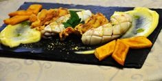 Calamaro due cotture con pure' affumicato e panissa