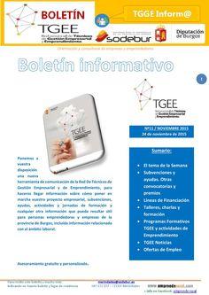 Boletín Red TGEE - Nº 11 Boletín de Emprendimiento y Gestión Empresarial