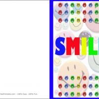 "SMILE card! This is sure to brighten somebody's day...give a ""like"" and share the smiles!"
