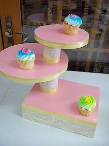 Build your own cupcake stand