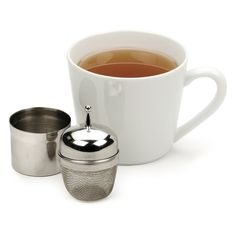 Floating Tea Infuser with Tablespoon Caddy
