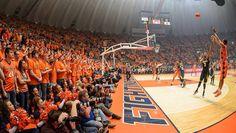 University of Illinois basketball Assembly Hall