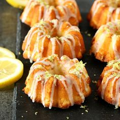 You will LOVE these amazing Mini Lemon Bundt Cakes with lemon glaze! Full of flavor, extremely moist, and a delicious recipe.