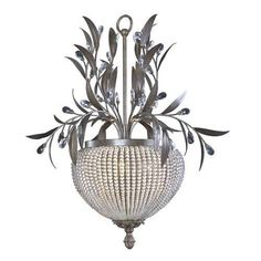 I was looking for a chandelier for my bedroom and this came up on Ebay, I think it is kind of cool looking!!  Crystal Bronze 3 Light Chandelier Shabby Vintage French Parisian Chic New   eBay