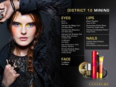 The Hunger Games: Catching Fire, CoverGirl Capital Collection - District 12 - Mining