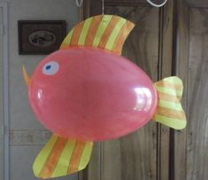 Poisson d'avril ballon