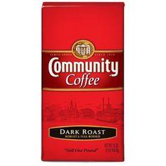 Community Coffee Dark Roast..the only way to go!!!  Belinda