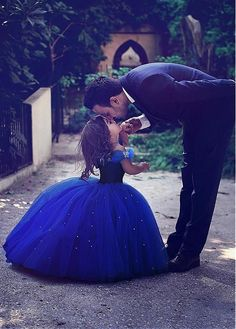 Cheap dresses communion dress, Buy Quality communion dresses directly from China girls pageant dresses Suppliers: Cute Royal Blue Flower Girl Dress Ball Gown Girls Pageant Dresses Communion Dress Tulle Floor Length Toddler Birthday Dresses
