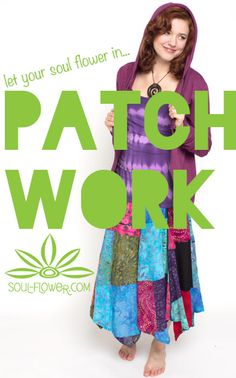 patchwork clothing! <3