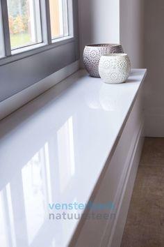 Marble Window Sill, Window Ledge, Feature Wall Design, Master Bath Remodel, Bathroom Windows, Apartment Interior, Mudroom, Sweet Home, House Design