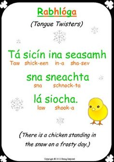 Irish tongue twister
