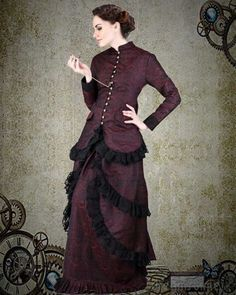 Steampunk Victorian Brocade Dinner Dress (large) ThePirateDressing,http://www.amazon.com/dp/B0079WHRD0/ref=cm_sw_r_pi_dp_vK98sb0CEZMY58DE