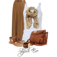 Stylish Eve 2013 Outfits: A Great Pair of Brown Shoes Does an Outfit Good