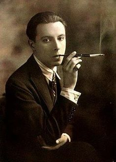 Romain de Tirtoff (23 November 1892 – 21 April 1990) was a Russian-born French artist and designer known by the pseudonym Erté, the French pronunciation of his initials, R.T. He was a diversely talented 20th-century artist and designer who flourished in an array of fields, including fashion, jewelry, graphic arts, costume and set design for film, theatre, and opera, and interior decor.